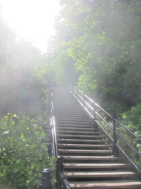 Stairway to heaven? Or the top of Mount Royal?