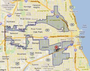 Gerrymandering, thank you Google definitions, is manipulating the boundaries of an electoral constituency so as to favor one party or class (as illustrated in Chicago's 4th congressional district)